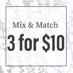 ⭐️Mix & Match Bundles⭐️